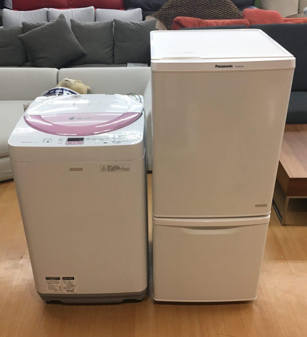 野々市市に冷蔵庫と洗濯機の出張買取にお伺い致しました