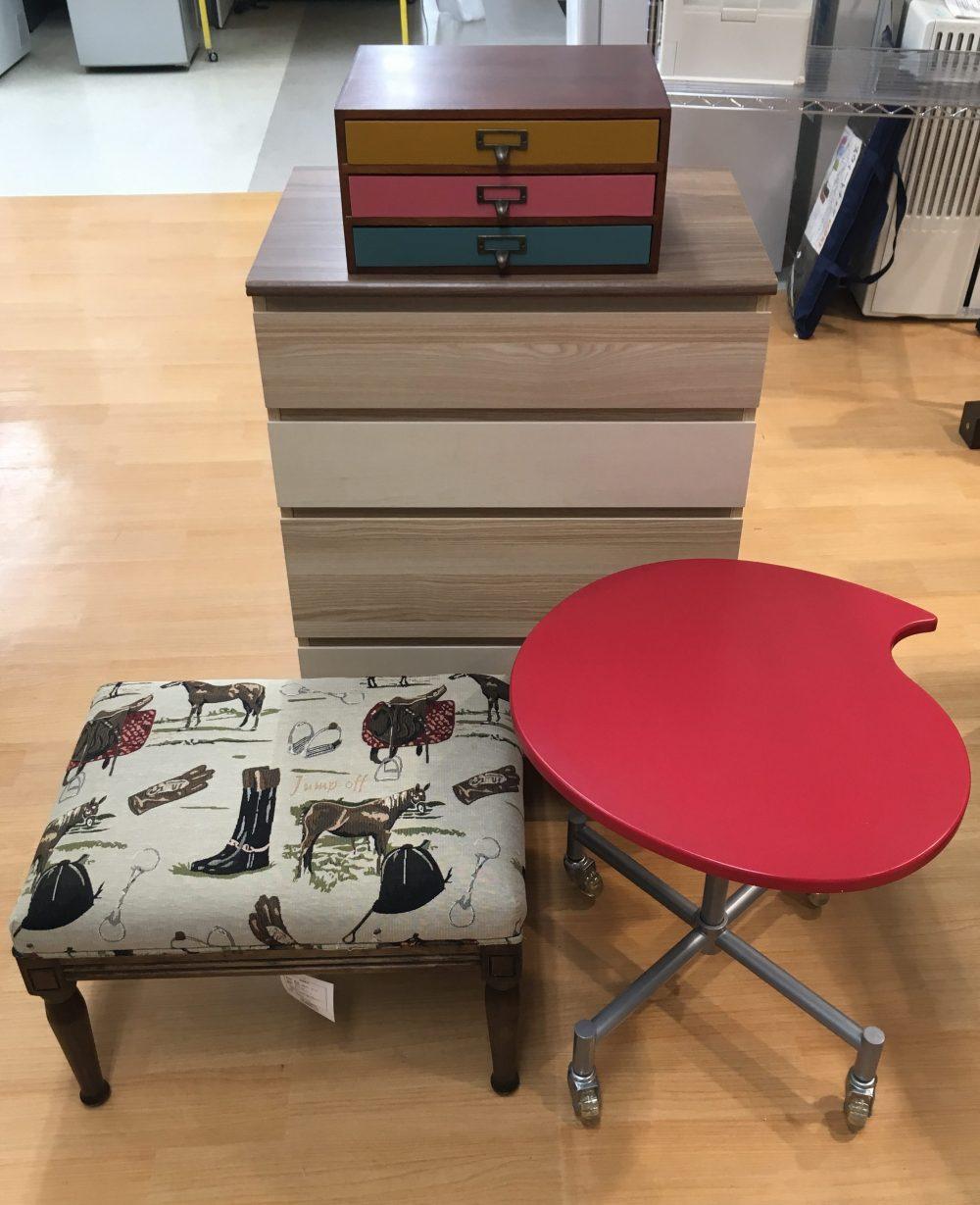 金沢市に小型家具の出張買取にお伺い致しました