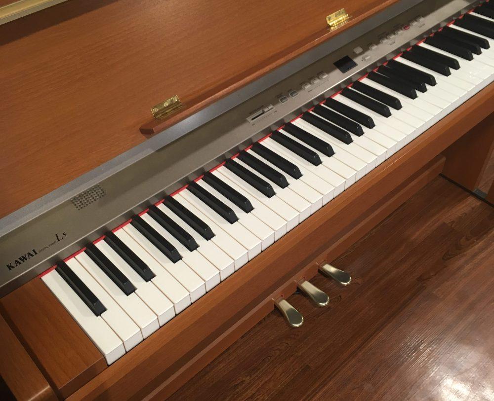 野々市市に電子ピアノの出張買取にお伺い致しました